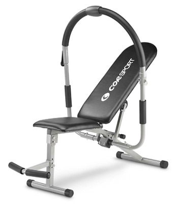 Abdominal bench Corsport indoor fitness muscoli addominali con computer