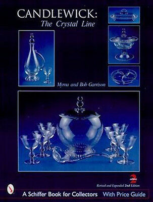 CANDLEWICK: THE CRYSTAL LINE: comprehensive price gude for clear candlewick