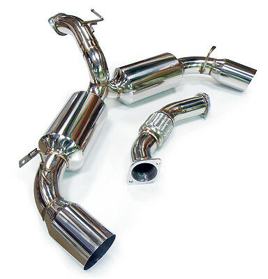 Toyota Mr2 Sw20 3S-Gte Turbo Japspeed Stainless Steel Catback Exhaust System