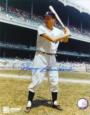 Johnny Blanchard Signed Licensed 8X10 Photo NEW YORK YANKEES