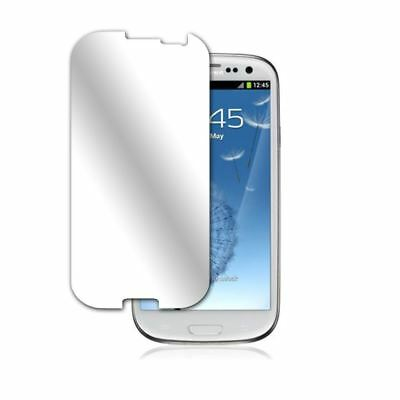 6x TOP QUALITY MIRROR LCD SCREEN PROTECTOR FOR SAMSUNG GALAXY SIII S3 S 3 i9300