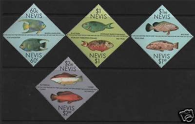 Nevis 1987 Coral Reef Fish SG 477/84  MNH