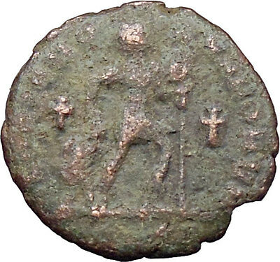 VALENS with Christ Monogram & TWO CROSSES 364AD UNPUBLISHED Roman Coin  i29889