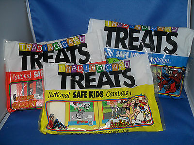 1991 IMPEL TRADING CARD TREATS - SAFE KIDS CAMPAIGN (72) PACKS *LQQK*