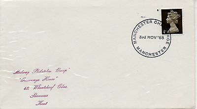 GB = Special Event Cover - (1968) - MANCHESTER CHALLENGE (1)