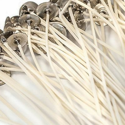 """LX -30 Pretabbed Large Candle Wicks ~ 6 """" ~ Candle Making Supplies"""