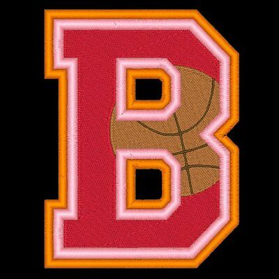 Varsity Basketball - 78  Machine Embroidery Designs (Azeb)