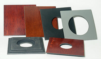 """1 LENS BOARD 4x4"""" for GRAPHIC VIEW I & II - 4"""" x 5"""", undrilled, or various holes"""