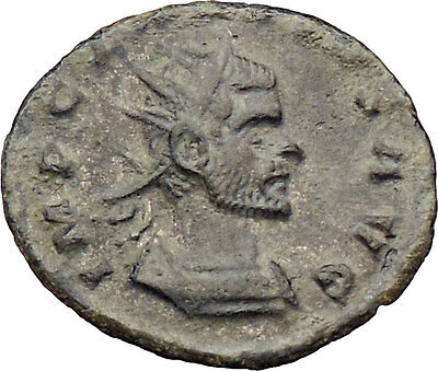 CLAUDIUS II Gothicus 268AD  Ancient Roman Coin PAX Peace Goddess i29986