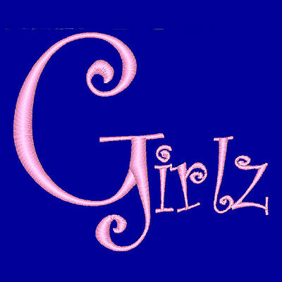 Girlz - 207  Machine Embroidery Designs (Azeb)