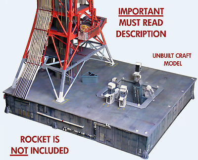 Launch Umbilical Tower LUT Model Craft Kit for 1:72 Dragon Saturn V