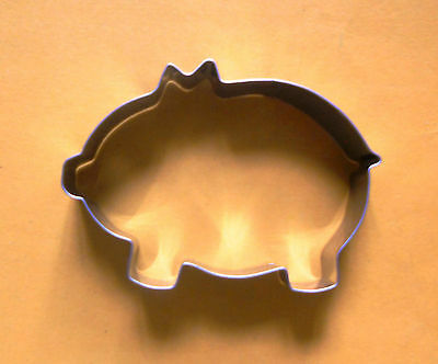 """4"""" Pig animal baking party biscuit pastry metal cookie cutter mold"""