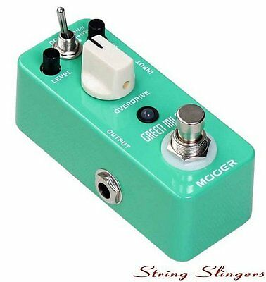 Mooer Micro Compact 'Green Mile' Overdrive Effects Pedal, MOD1