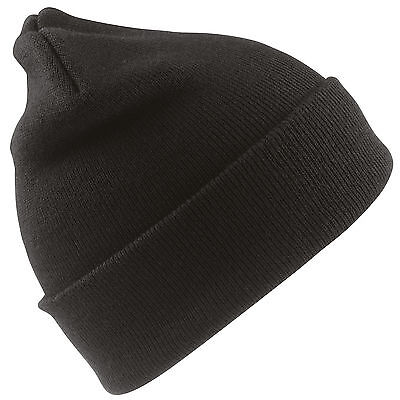 Wholesale Job Lot Black Thermal Hats Brand New