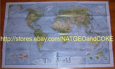 National Geographic Supplement MAP November 2010 WORLD Great MIGRATIONS