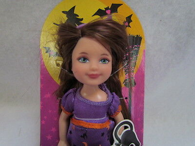 Halloween 2012 Barbie Kelly Only At Target Dolls Ghost Witch Spider Friends New