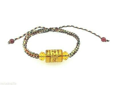 Feng Shui Buddhist Five Elements Bracelet with  Adjustable String for Protection