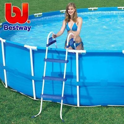 Bestway Ladder for Above Ground Swimming Pool 107cm 42 inch Deep 58044