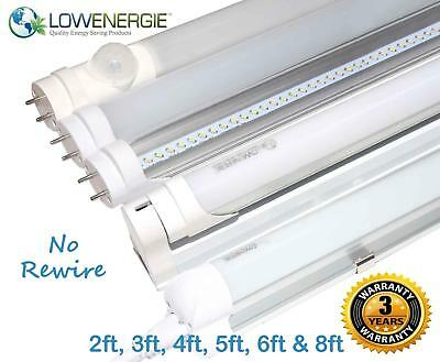 LED Tube Light, Retrofit Fluorescent energy saving T8 or T12 replacement, SMD