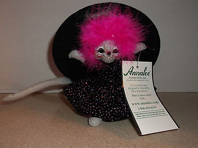 Darling Pink  Witch Mouse  by Annalee  5 inches