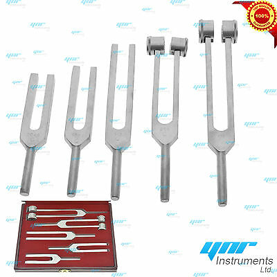 Medical Tuning Tunning Fork Chakra 5Pcs Set Made Of Aluminium Ce Mark - Ynr