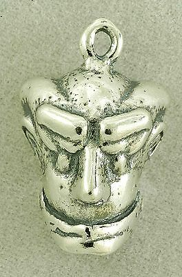 WICKED BROADWAY 2011 OZ HEAD STERLING SILVER CHARM - NEW