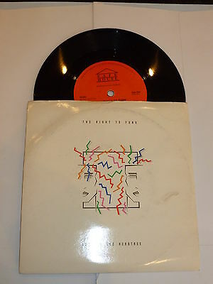 """SERGION & HERBTREE - The Right to Funk - 1987 UK 7"""" Vinyl Single"""