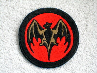 Bacardi Embroidered Patch