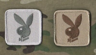 AFG-PAK JSOC SEAL SPECIAL WARFARE INFIDEL VELCRO PATCH: Play Boy Logo Combo a