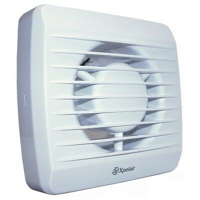 Xpelair LV100H 12 Volt LV Single Speed Humidity Timer Bathroom Extractor Fan