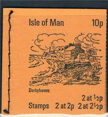 Isle of Man 1973 SB 1 Booklet MNH