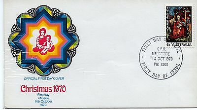 Australia = First Day Cover - (1970) - Christmas