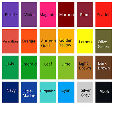 All in one Acid Dyes choose from 23 colours for wool, silk, feathers, nylon