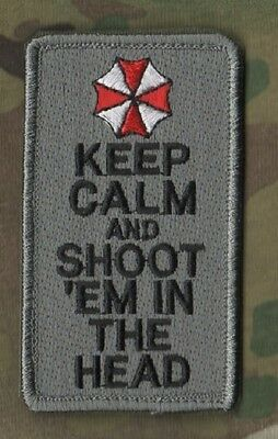 ZOMBIE APOCALYPSE SURVIVAL CIVIL DEFENSE KIT: Keep Calm and Shoot them in Head