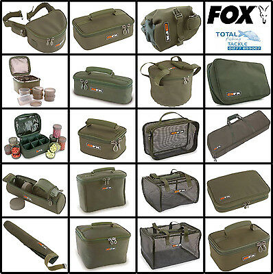 Fox NEW Carp Fishing FX Luggage Accessory And Bait Bags *FULL RANGE*