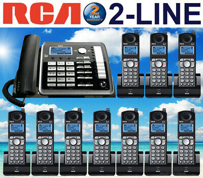 Rca 25255Re2 2-Line Dect 6.0 Corded / Cordless Phone System - 10 Cordless - New