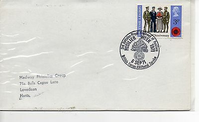GB = Special Event Cover - (1971) - FUSILIER WEEK 1971, BFPS/1191