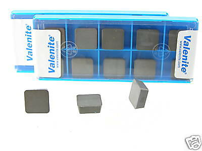 20 New Valenite Spg 434 T00820 Q6 Ceramic Inserts R554S