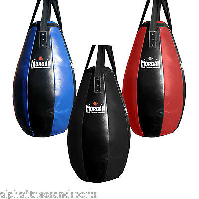 Morgan V2 Tear Drop Bag Punching Boxing MMA Punch Muay Thai Unfilled FREE GIFT