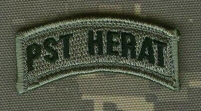 JSOC Provincial Support Team PST Herat Province Afghanistan: 207th HERAT TAB