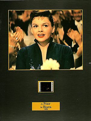 "A STAR IS BORN Movie 8""x12"" SENITYPE FILM CELL + PHOTO-Judy Garland"