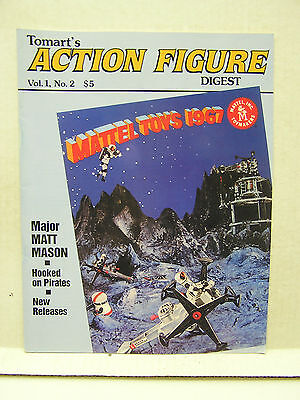 1 # 2 1991 Tomart/'s ACTION FIGURE Digest Magazine Vol Mattel Toys 1967