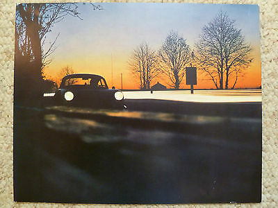 1966 Porsche 356 Coupe Showroom Advertising Sales Poster RARE!! Awesome L@@K