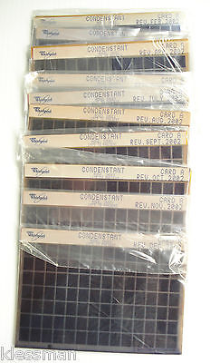 11 Sets Whirlpool Condenstant Microfiche Various Dates-Latest Rev 12/02 Grp 5