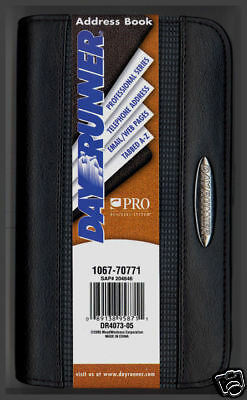 Day Runner~Pro Men/women Phone /password /address Book