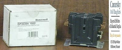 1 New Honeywell Dp3030A-1002 30 Amp Contactor ***make Offer***