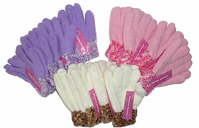 Wholesale Job Lot Ladies Feather Touch Gloves Assorted Colours12- 48 OR 96 Pairs