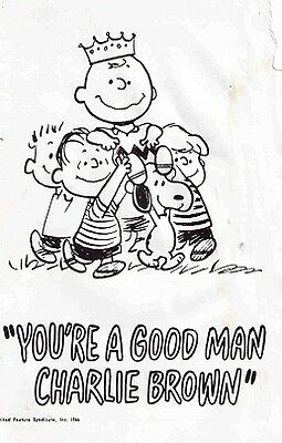 You're A Good Man Charlie Brown Broadway Playbill - Gary Burghoff