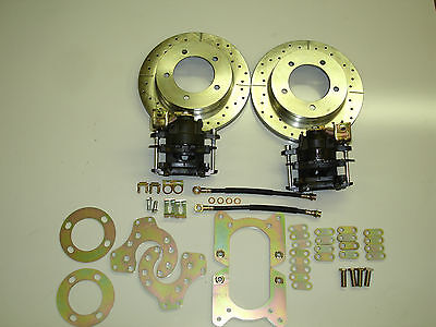 Ford Bronco Truck Old Ford Large Bearing Rear Disc Brake Conversion 5 On 5.5