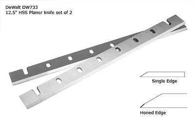 DeWalt DW733 High Speed Steel HSS Planer Blades replaces Dewalt Blade # DW7332